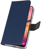 Samsung Samsung Galaxy A20 Navy   Wallet Case Hoesje    WN™