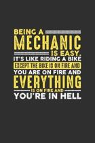 Being a Mechanic is Easy. It's like riding a bike Except the bike is on fire and you are on fire and everything is on fire and you're in hell: Weekly