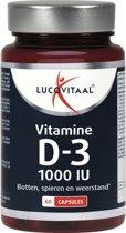 Lucovitaal - Vitamine D3 - 25 microgram - 60 capsules - Voedingssupplementen