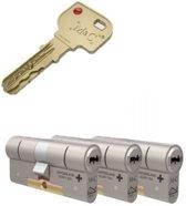 Cilinderslot - M&C Condor SKG*** 3 cilinders met 5 sleutels