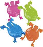 Boland Jumping Frogs Kikkers 4-delig 8 Cm