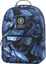 Franklin & Marshall Fashion - Rugzak - 15 inch - Blue Forest Allover