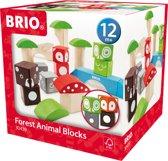 BRIO Bosdierenblokken - 30439