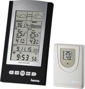 Hama EWS-800 Weerstation - Elektronisch - Baro, thermo en hygrometer - Zwart/Zilver