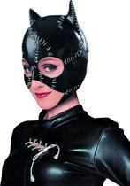 """""""Catwoman™ masker voor volwassen - Verkleedmasker - One size"""""""