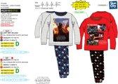 Star Wars Kylo Ren pyjama grijs maat 8 (128cm)