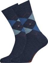 Burlington Edinburgh Herensok 21182 - 46-50 - Blauw