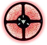 7,5 meter led strip rood waterproof - IP68 - 60Leds/m - 3528
