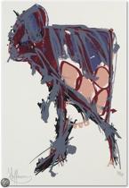 Claudia Hoffman Schilderij Zeefdruk 'Zonder titel' (9530)
