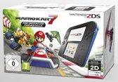 Nintendo 2DS Handheld Console +  Mario Kart 7 - Zwart + Blauw 2DS Bundel