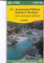 Geopsis Wandelkaart Eastern Rodopi 1:40.000 (131)