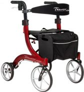 Rollator Travixx Deluxe Tuscan Red M