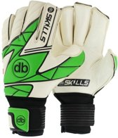 Keepershandschoenen fingersave db SKILLS Green maat 6