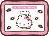 Silicone Zone Hello Kitty - Bakmat - Junior - Wit