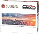 1000 pcs - New York City, Manhattan