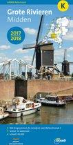 ANWB waterkaart K - Grote Rivieren Midden 2017/2018