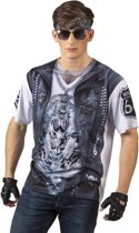 3 stuks: Fotorealistisch shirt - Rider - Medium