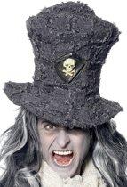 Halloween Grijze dodengravers hoed
