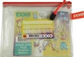 EXXO-HFP A6-XL Opbergtas Handy - Multi-Purpose - Rits Rood - 5 stuks