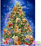 "Diamond Painting ""JobaStores®"" Kerstboom - volledig - 40x50cm"