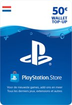 50 euro PlayStation Store tegoed - PSN Playstation Network Kaart (NL)