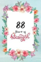 88th Birthday Journal