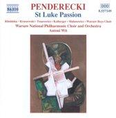 Penderecki: St Luke Passion