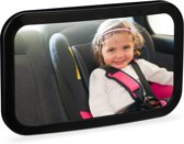 relaxdays autospiegel baby - achterbank spiegel - spiegel auto baby - achteruitkijkspiegel