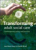 Transforming adult social care