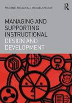 Managing and Supporting Instructional Design and Development