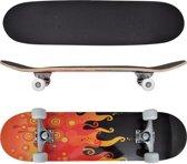 """VidaXL - Skateboard met vuur - Ovaal - Esdoorn hout 8"""""""