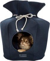 Trixie BE NORDIC Relax-Iglo honden-kattenhuisje blauw ø 40 × 56 cm