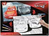 Inkleur puzzel Disney Cars