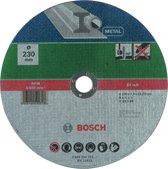 Bosch slijpschijf - Voor metaal - 230 x 3 mm - recht
