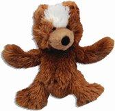 Kong dr.noys dog teddy bear bruin 20cm - 1 st