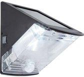 Solar wandlamp Triangle met bewegingsmelder buitenlamp op zonne energie | Muurlamp met LED