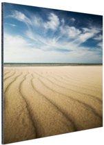 FotoCadeau.nl - Kust landschap in Europa Aluminium 50x50 cm - Foto print op Aluminium (metaal wanddecoratie)