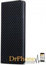iPhone 8 / 7 X-Level Wallet Carbon Style Portemonnee Case - Zwart