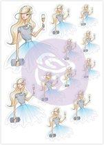 Prima Marketing Planner Stickers Diamond Girl