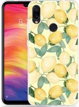 Xiaomi Redmi Note 7 Hoesje Lemons