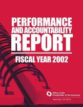 Performance and Accountability Report Fsical Year 2002