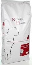 Natural Health Droogvoer Natural Health Dog Large Bite 12.5 Kg.