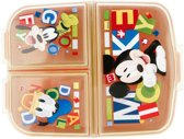 Mickey Mouse Multi Compartment broodtrommel