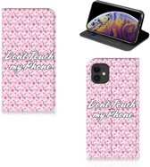 iPhone 11 Design Case Flowers Pink DTMP