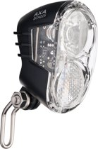 Axa Echo 15 Switch LED Fiets Koplamp - Dynamo