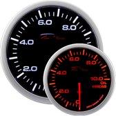 Depo Racing WA-Series Instrument - Oliedruk 0,0>10,0 bar - 52mm