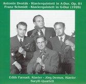 Antonin Dvorak: Klavierquintett in A-Dur, Op. 81; Franz Schmidt: Klavierquintett in G-Dur