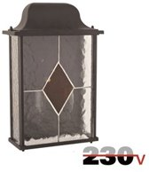 Luxform 230V Richmond wand buitenlamp