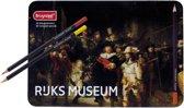 BRUYNZEEL Hollandse Meesters blik 50 kleurpotloden De Nachtwacht van Rembrandt