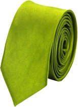Fako Bijoux® - Skinny Stropdas - Effen - 145cm - Groen